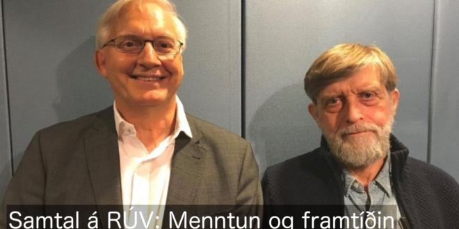 Menntun og framtíðin á RÚV
